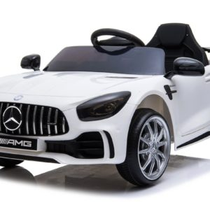 12V Licensed Mercedes GTR Ride On Car White